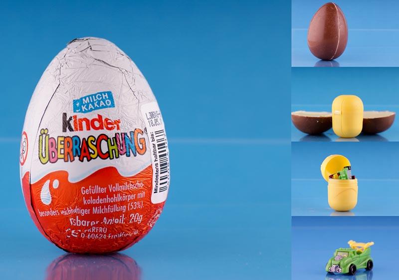 Как делают киндер сюрприз на фабрике. Как сделать большой Киндер Сюрприз своими руками? Гигантское яйцо в домашних условиях