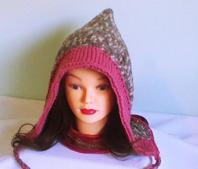 Капюшон-шапка спицами: краткое описание работы, интересные модели, фото