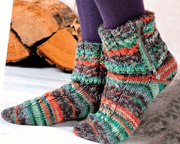 Носки спицами: инструкции по вязанию
