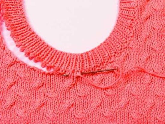 Вязание воротника спицами: схемы с описанием для женщин
