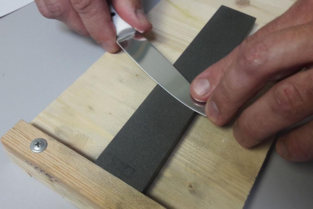 Как заточить нож рубанка