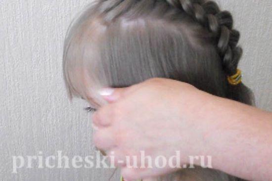 Как заплести красивые косички ребенку, видео инструкция