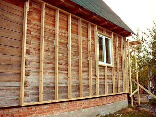 Отделка вагонкой деревянного дома внутри и снаружи