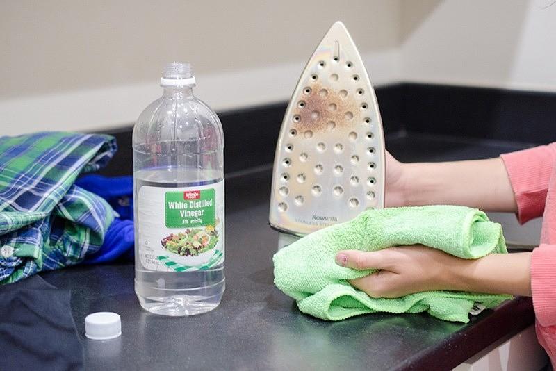 Как почистить утюг в домашних условиях: 6 способов