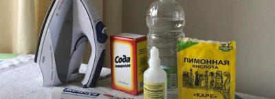 Как очистить подошву утюга; инструкция с Видео