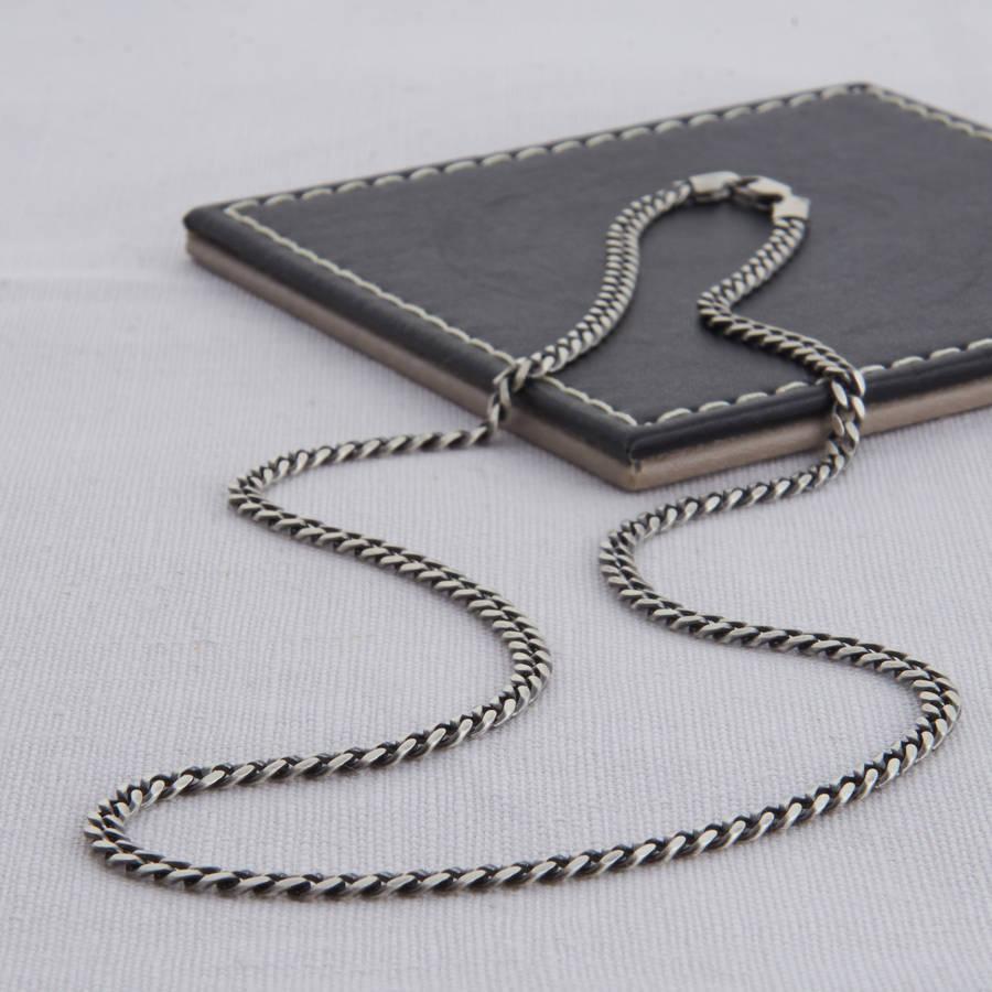 Серебряные цепочки на шею и руку: разновидности и фото