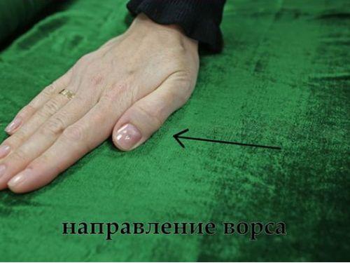 Инструкция как определить сторону ткани