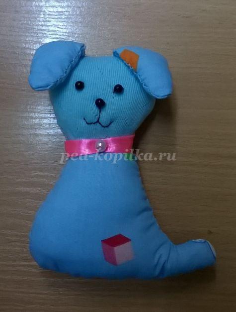 Мягкая игрушка «Собачка» своими руками для детей. Выкройки. Пошаговая инструкция с фото