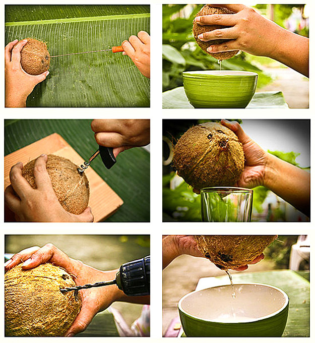 Как легко открыть кокос дома? Инструкция, чтобы открыть кокос