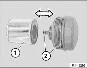 Как открутить масляный фильтр bmw e90