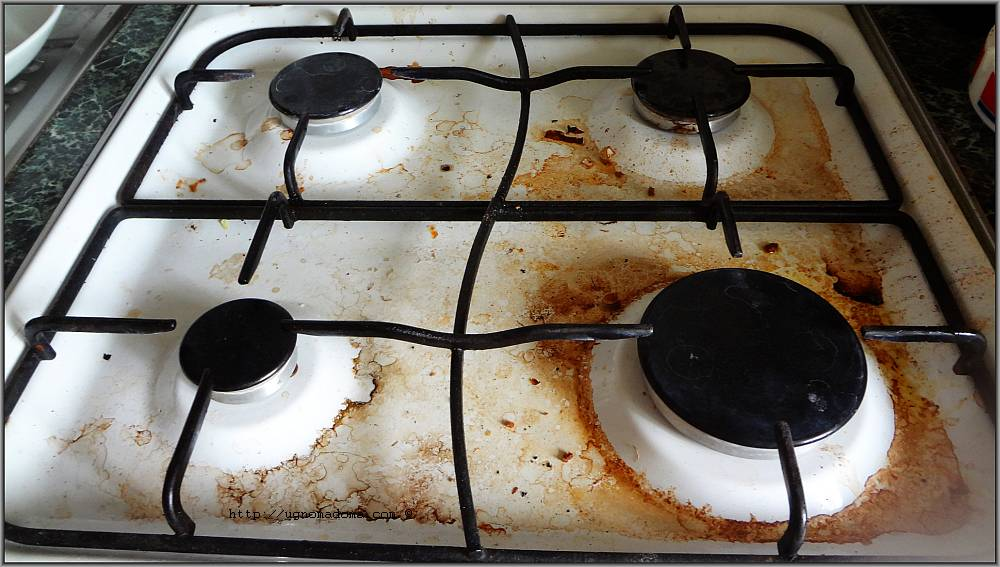 Как очистить газовую плиту от нагара и жира; раз, и навсегда