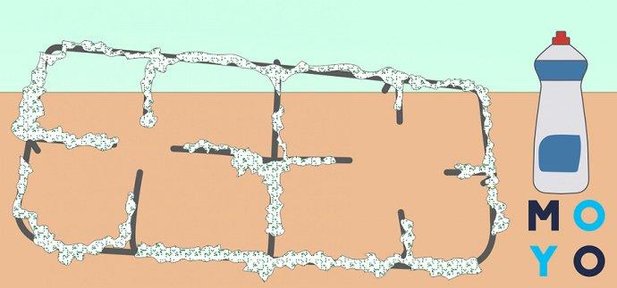 Лайфхак: как отмыть решетки газовой плиты