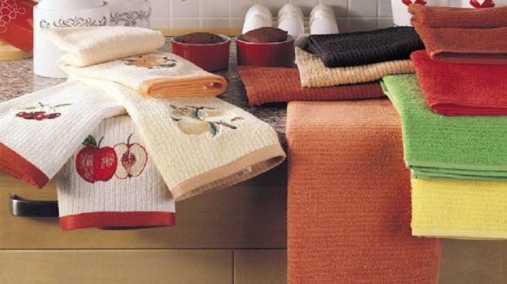 Чем отстирать кухонное полотенце в домашних условиях от застарелых пятен, жира, как отбелить