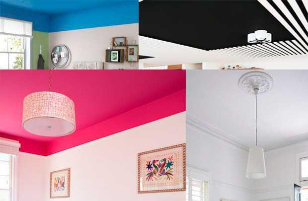 Покраска потолка водоэмульсионной краской — делаем работу правильно и без разводов