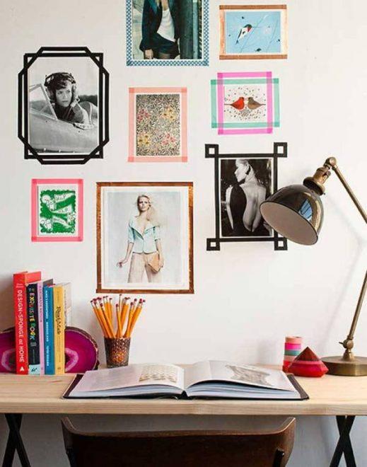 Лайфхаки для стен квартиры: идеи на фото