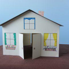 Домик из бумаги; современные идеи и рекомендации как просто и быстро сделать домик (100 фото)