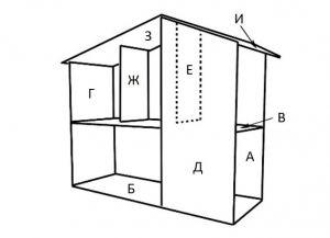 Как сделать бумажный домик для бумажных кукол — инструкция с фото