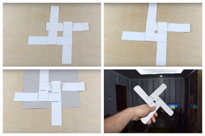 Как сделать из картона бумеранг