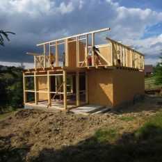 Дачный домик своими руками; простая пошаговая инструкция стильных летних домиков (75 фото)