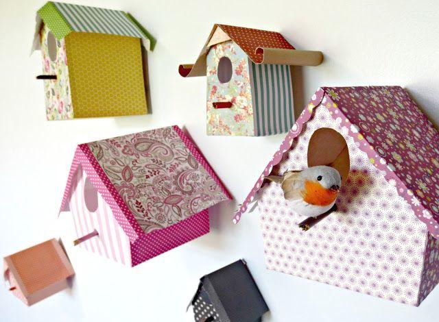 Kā padarīt pašdarinātu kartona putnu māju: soli pa solim sniegtas instrukcijas un fotogrāfijas