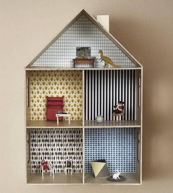 Интересная поделка: домик своими руками из картона