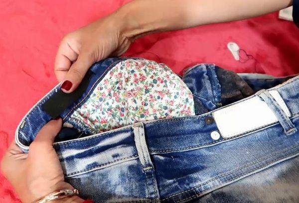 Что делать, чтобы в домашних условиях уменьшить джинсы на размер