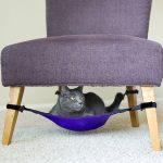 Лежанка для кошки как часть интерьера; идеи