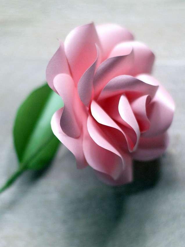Цветы из бумаги розы. Своими руками, пошаговые инструкции 500 фото