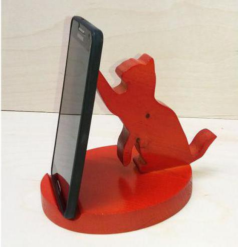 Подставка под телефон сделать самому своими руками: варианты изготовления