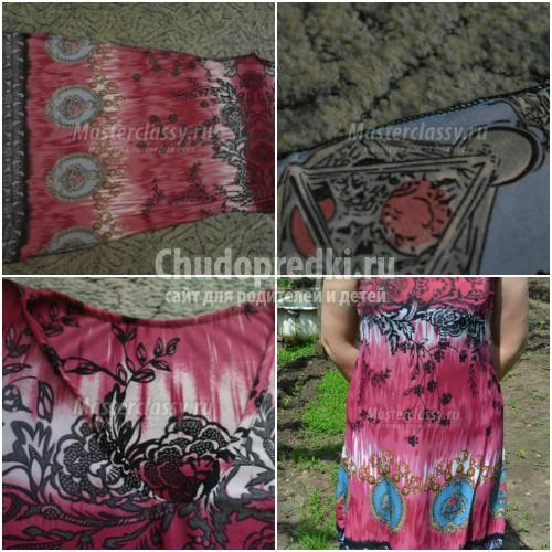 Универсальная выкройка детского платья и инструкция по пошиву