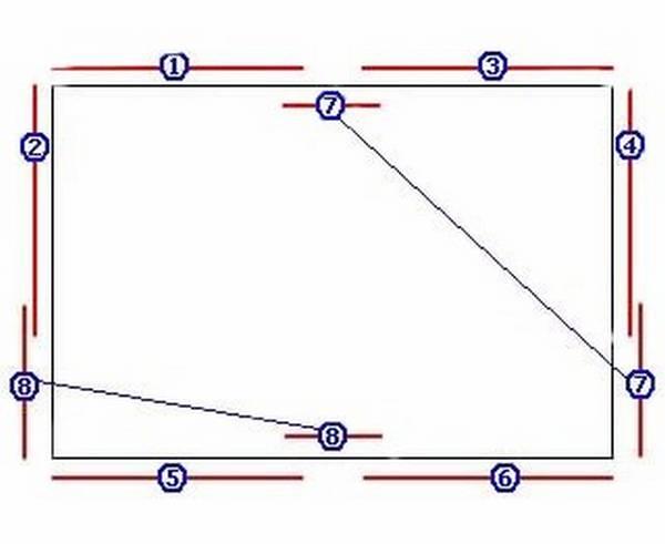 Как правильно резать и устанавливать потолочный плинтус