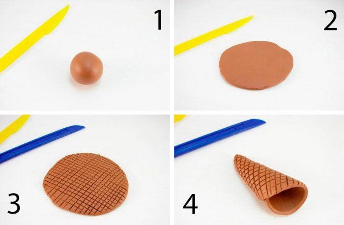 Поделки из воздушного пластилина; поэтапно своими руками, простые и легкие идеи поделок, фото, урок лепки для детей