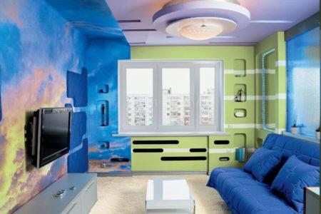 Как шпаклевать стены под покраску: технология, использование готовых смесей