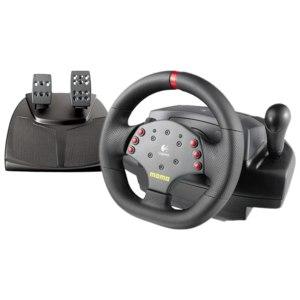 Руль с педалями Logitech MOMO Racing Force Feedback Wheel - отзыв