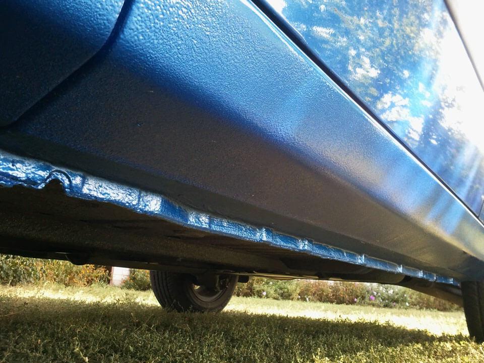 Покраска порогов автомобиля – пошаговая инструкция