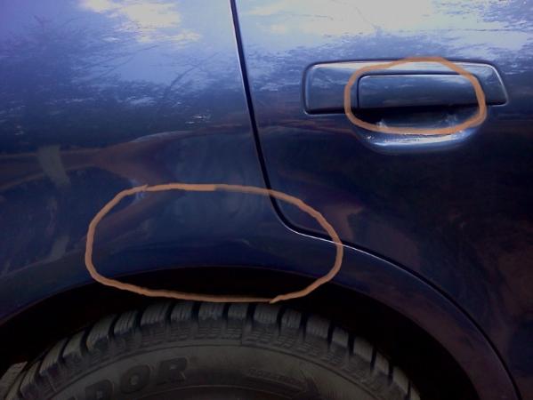 Чем закрасить царапину и скол на автомобиле самостоятельно