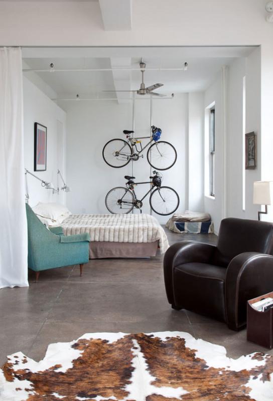 Как и где хранить велосипед? Несколько идей на заметку