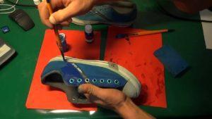 Как Восстановить Цвет Обуви