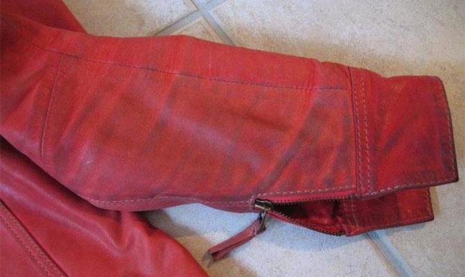 Как можно обновить кожаную куртку в домашних условиях
