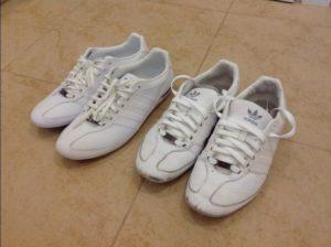 Как покрасить кроссовки