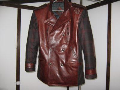 Покраска кожаной куртки. Все очень просто