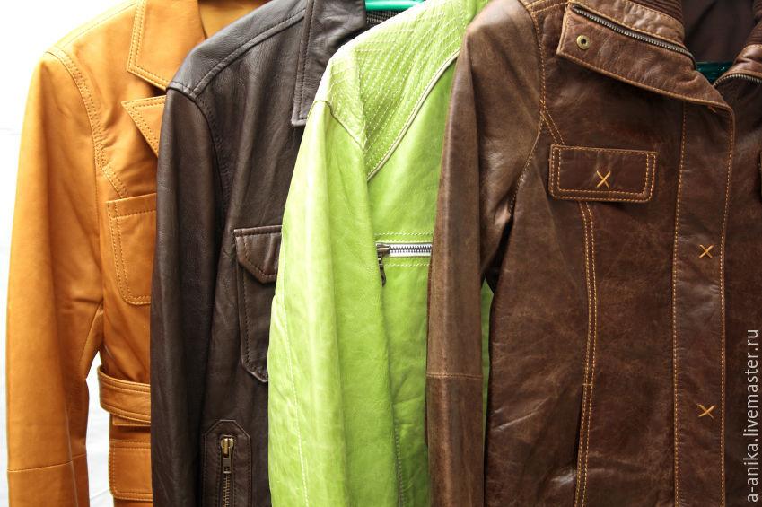 Окрашивание кожаных изделий в домашних условиях