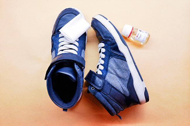 Покраска кожаной обуви в домашних условиях