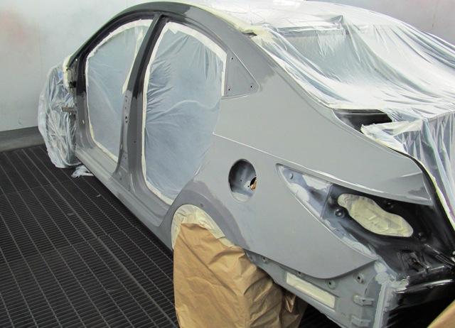 Покраска автомобиля раптором. Пошаговая инструкция и стоимость работ