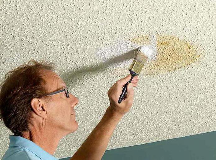 Побелка потолка водоэмульсионной краской сделать самому своими руками: пошаговая инструкция