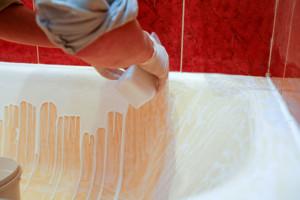 Эмалировка ванны своими руками: все про восстановление поверхности жидким акрилом