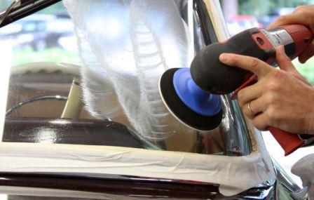 Как отполировать лобовое стекло своими руками: полная инструкция по полировке стекла автомобиля