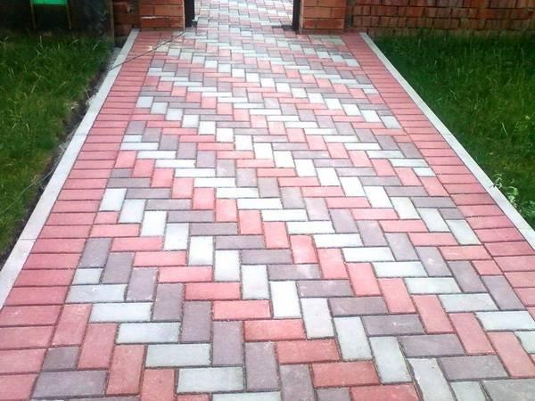 Качественная укладка тротуарной плитки своими руками