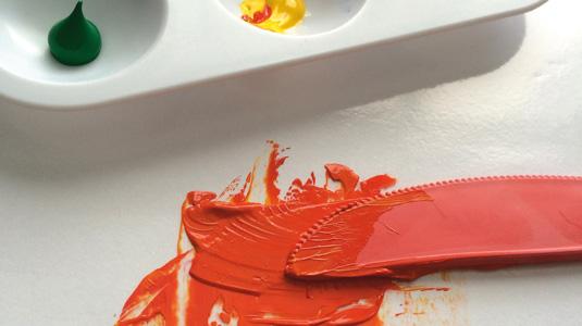 Техники акриловой живописи: советы профессиональных художников