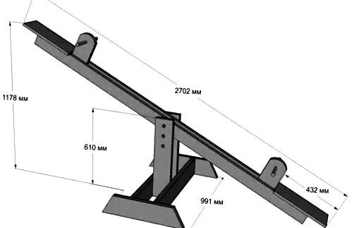 Как сделать качели на даче; 8 популярных вариантов